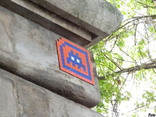 Space Invaders NY Knicks