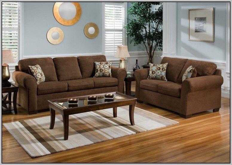 Attraktive Wohnzimmer Dekor Ideen Mit Braunen Möbeln Mehr auf - wohnzimmer ideen braune couch