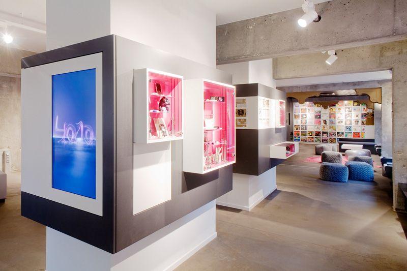 4010 Community Store Konzept, Eingangsbereich mit