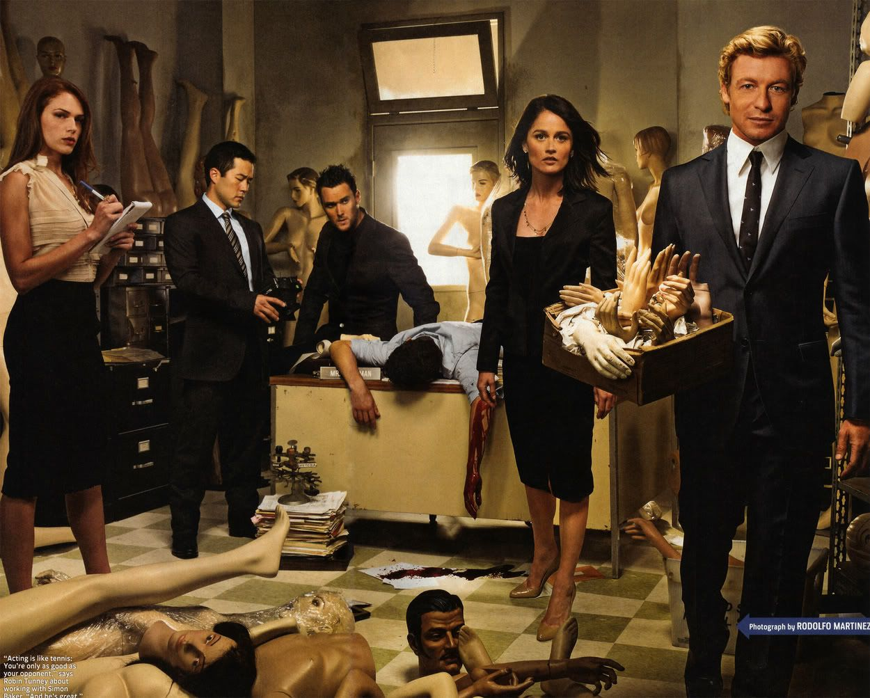 The Mentalist Tv Actually Worth Watching The Mentalist The