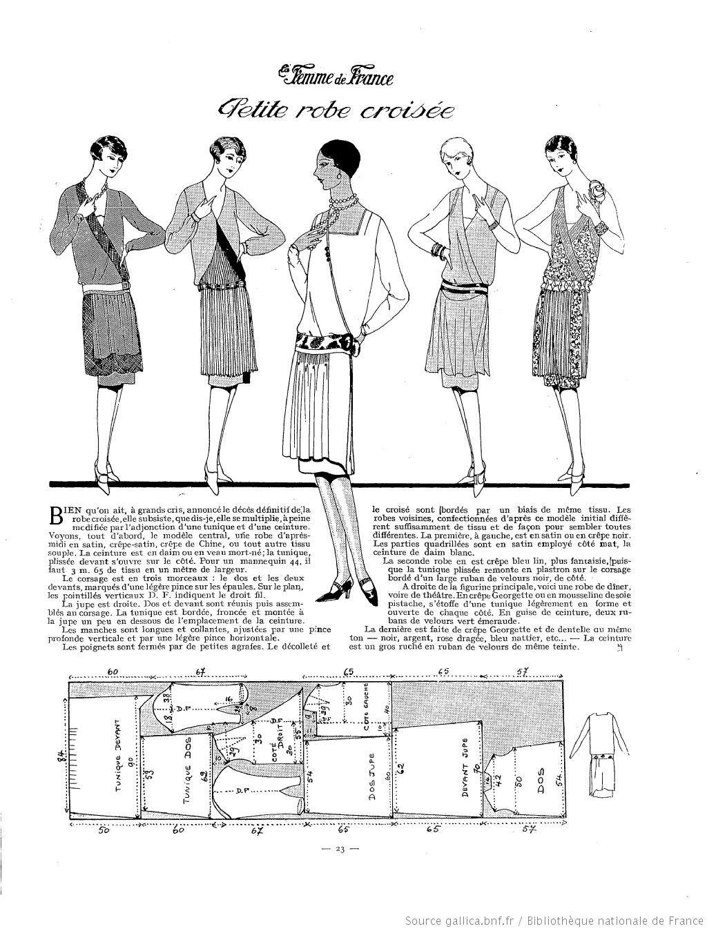 La Femme de France (1927) | 1920s Construction | Pinterest ...