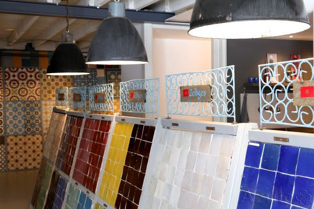 Cement tiles - Designtegels - Showroom Utrecht