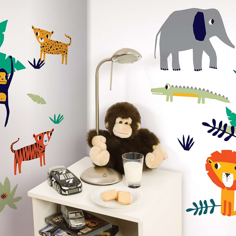 Jungle Wall Stickers Dunelm Kids Room Wall Stickers Jungle