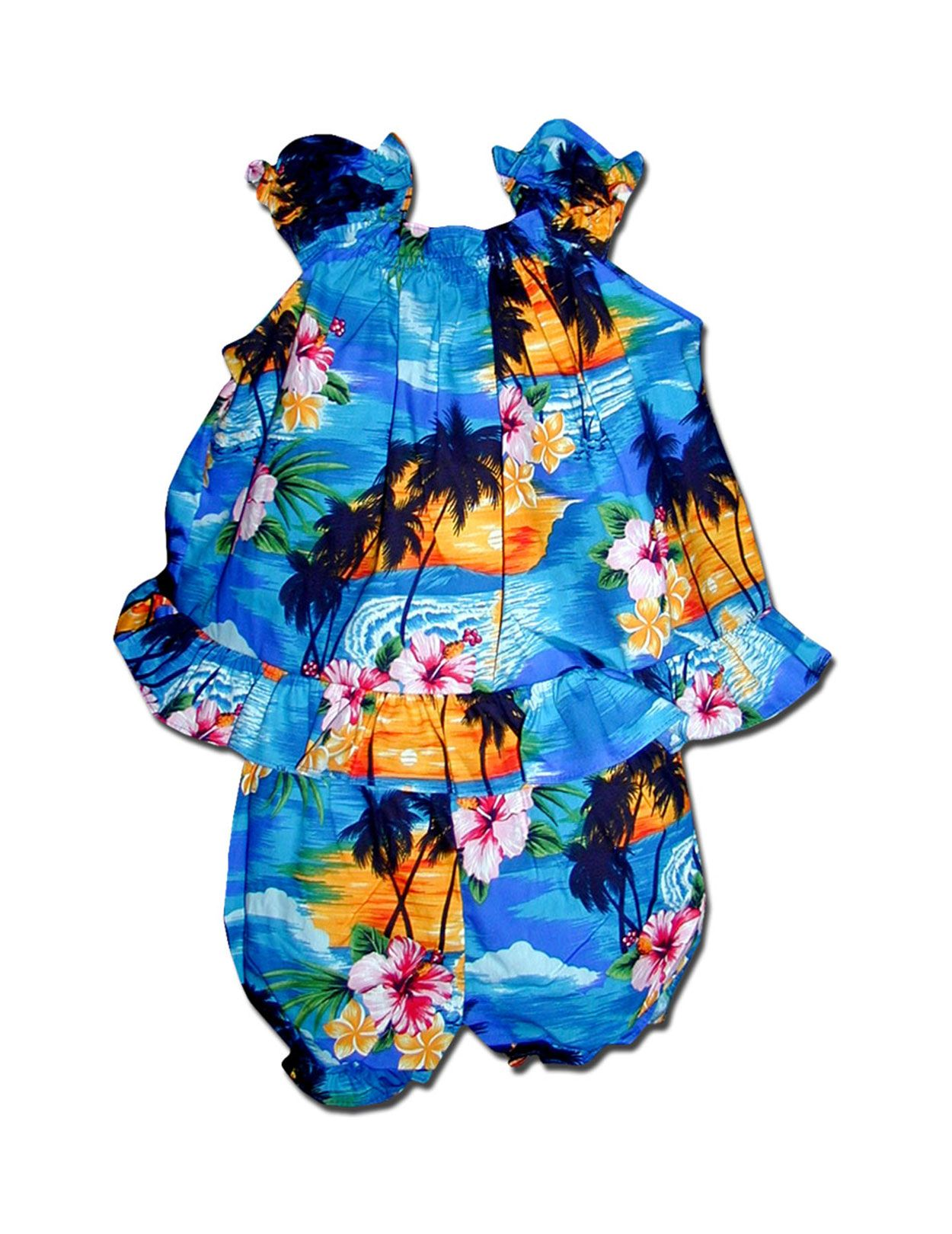 Check out the deal on Hula Sunset Baby Clothes Set at Shaka Time