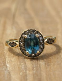 unique engagement rings with colored stones Google Search