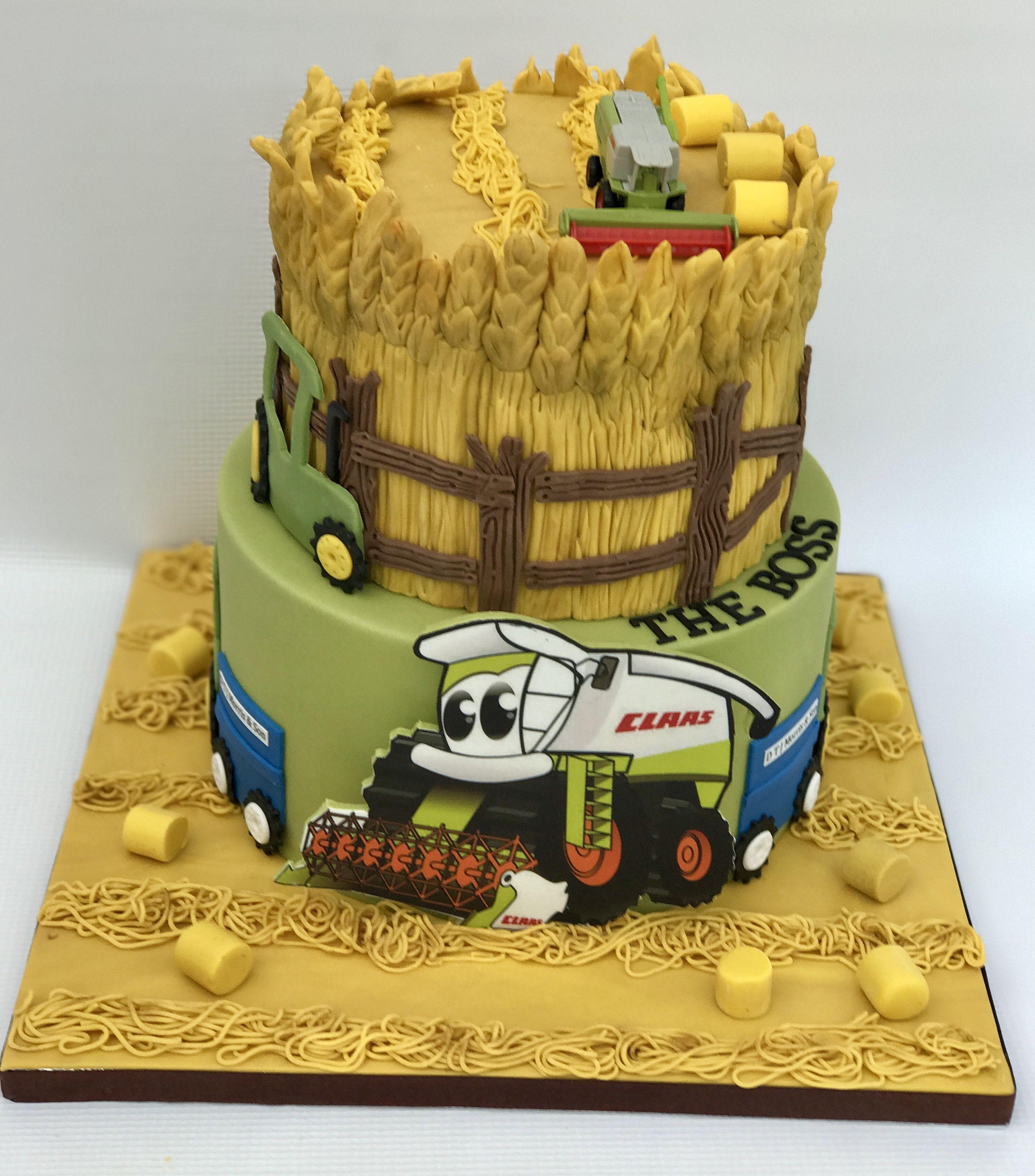 Harvesting Cake