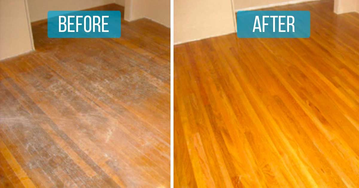 how to remove scratches from solid wood floor