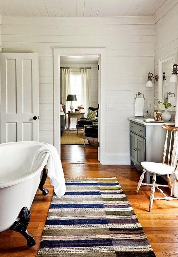 Rústico renovado / 10 baños rústicos que merecen un 10