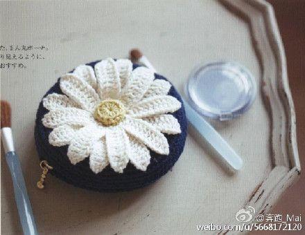 Daisy Flower Crochet Pattern Diagram Crochet Pinterest Daisy