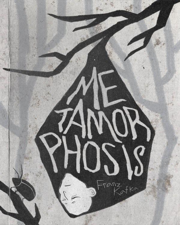 "Franz Kafka ""Metamorphosis"" Book Cover on Behance"