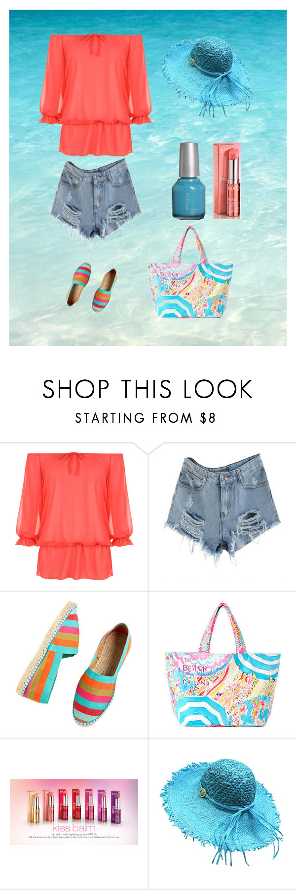 """""""Ocean"""" by moon-blue ❤ liked on Polyvore featuring WearAll, Bon Marche and Lilly Pulitzer"""