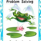 Leap Into Problem Solving Addition Word Problem task cards are great teaching aids for the classroom. This is a set of 20 task cards in full color. Each card gives the student an addition word problem to solve.