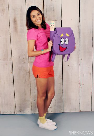 Explore Halloween as Dora the Explorer