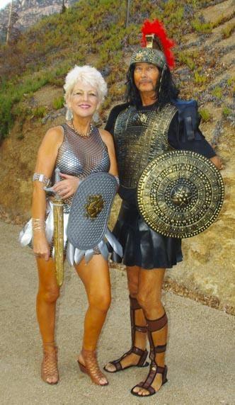 Sexy Gladiator Couples Costume Idea Sexy Couples Halloween Costume - romantic halloween ideas