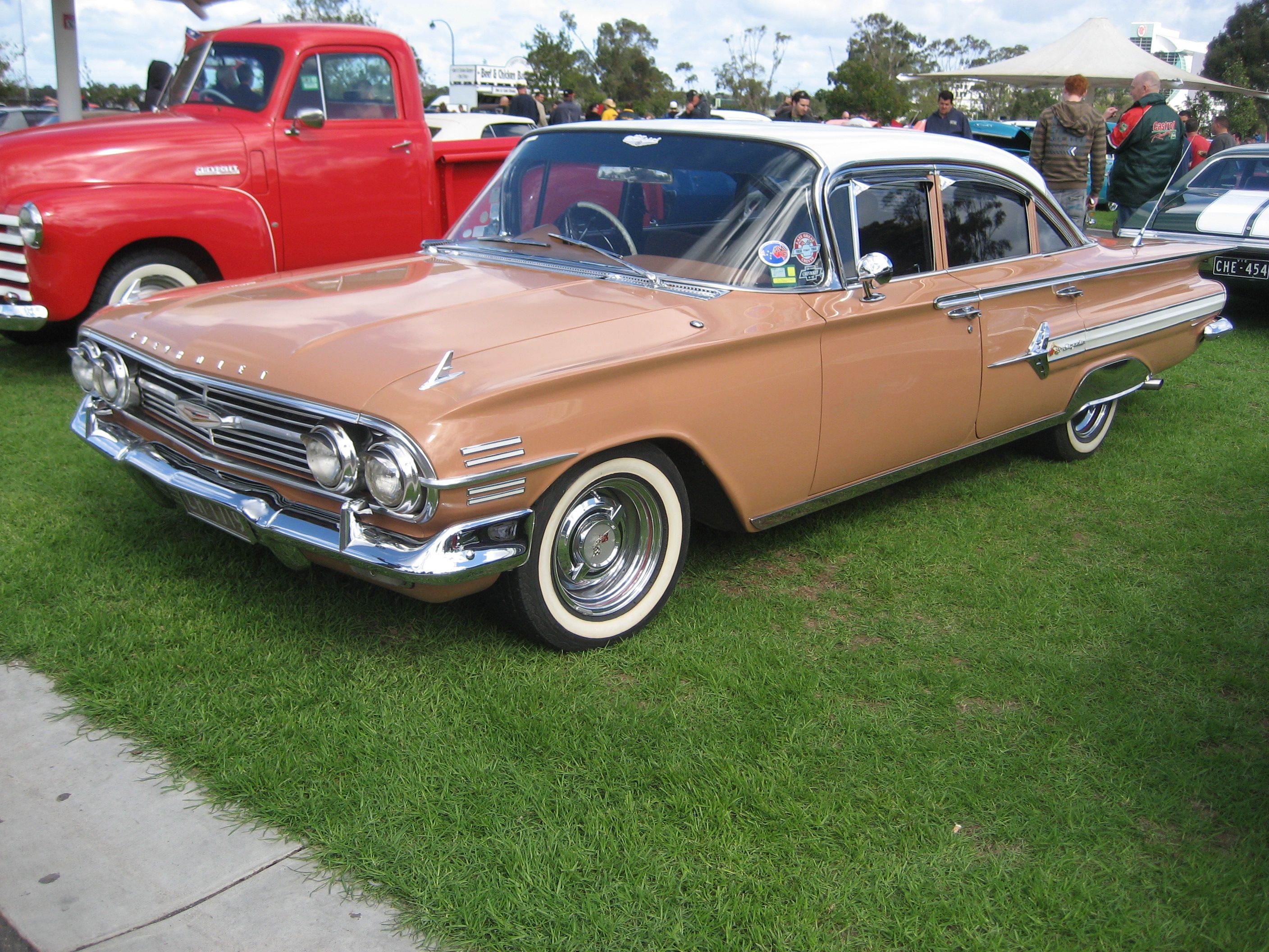 1960 chevy impala rhd appears to have impala 4 door stainless trim added to an
