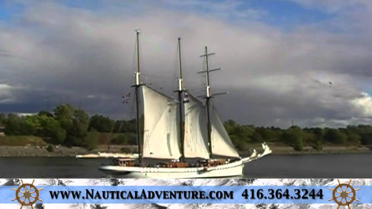 This is a video of a cruise aboard the Tall Ship:  Empire Sandy in Montreal!
