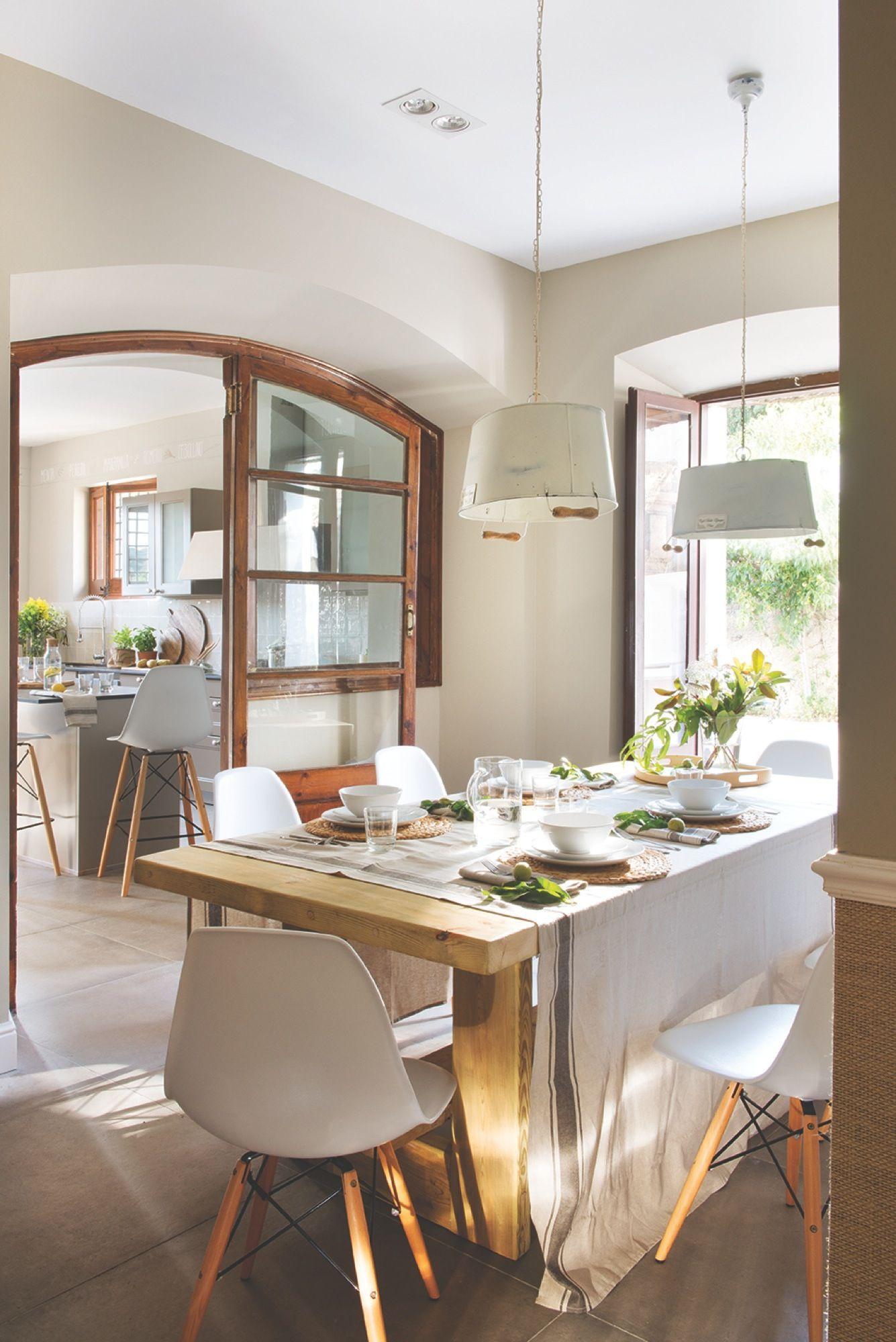 En el office comedores mesas y sillas modernas - Mesas y sillas modernas para comedor ...