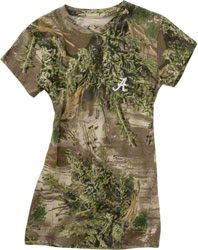 Alabama Crimson Tide Women's Realtree Outfitters Camouflage T-Shirt    Love this!!!!