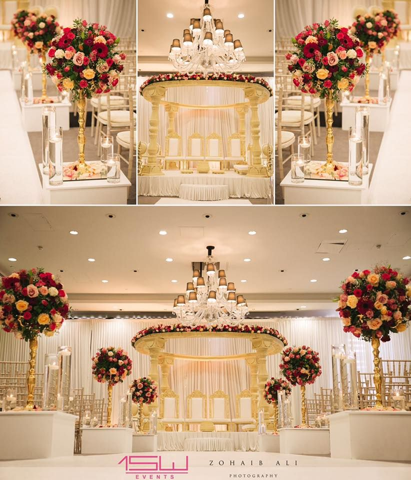Wedding mandap decoration ideas  A shot of our Mandap and mandap decor  Wedding Mandaps  Pinterest