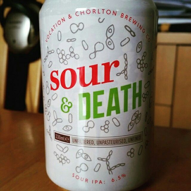 Sour & Death by Vocation and Chorlton Brewing Company