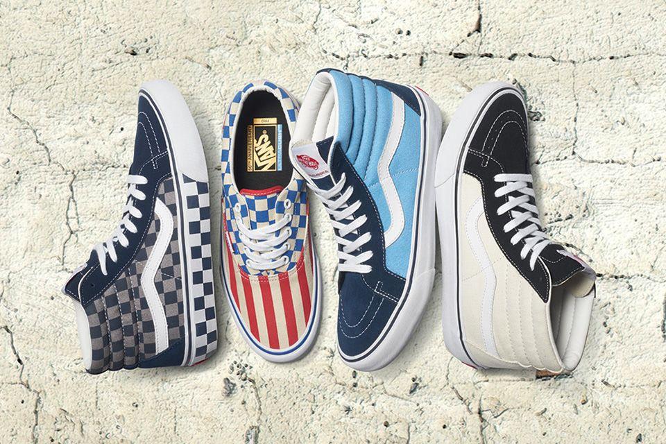 6e2119246580c3 Vans 50th Anniversary Sneakers