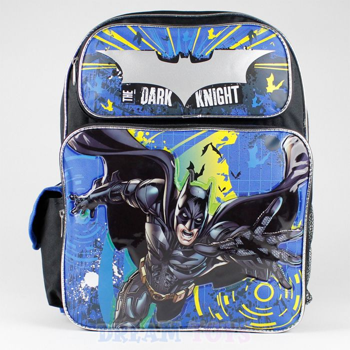d5d1eeea0e0a School Bags · Jelfis.com - 16  Large Batman Backpack in Black - The Dark  Knight Rises