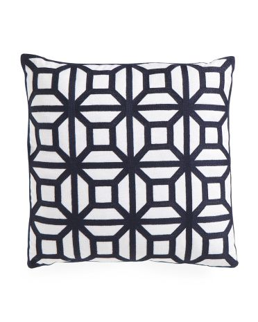 Best 20X20 Embroidered Geometric Pillow Geometric Pillow 400 x 300