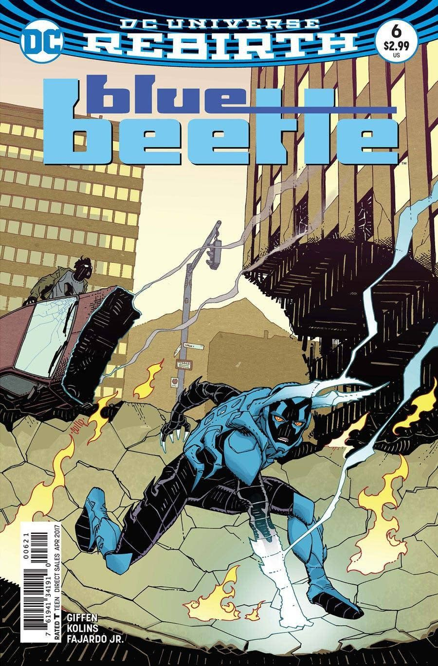 Blue Beetle #6 DC Comics Rebirth