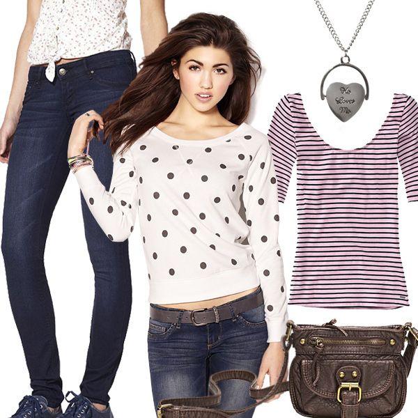 Trendy teen fashion
