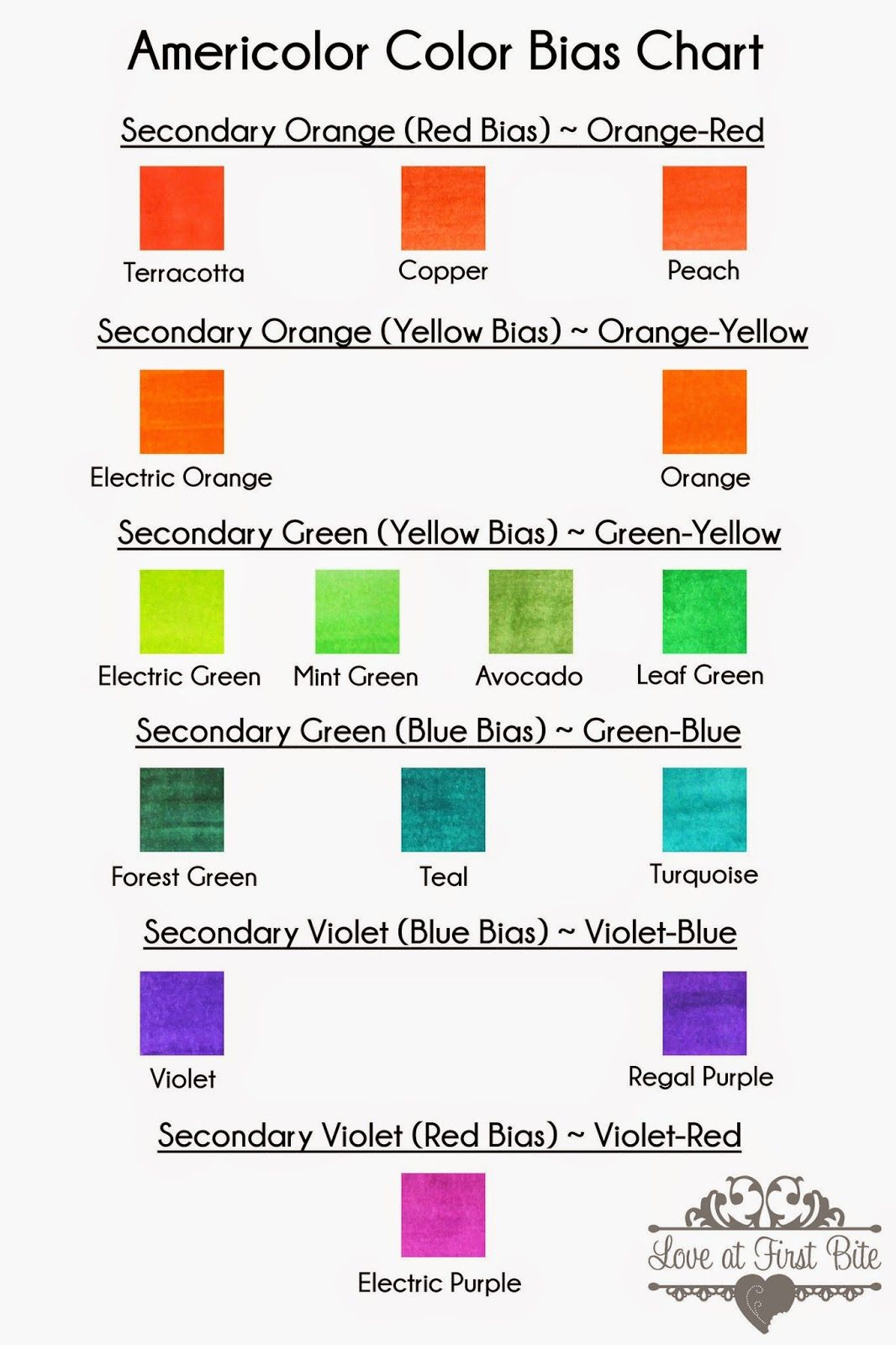 Cookies And Color Mixing Tertiary Colors The Easy Way Tertiary Color Food Coloring Food Coloring Chart