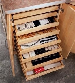 Elegant Cabinet Drawers