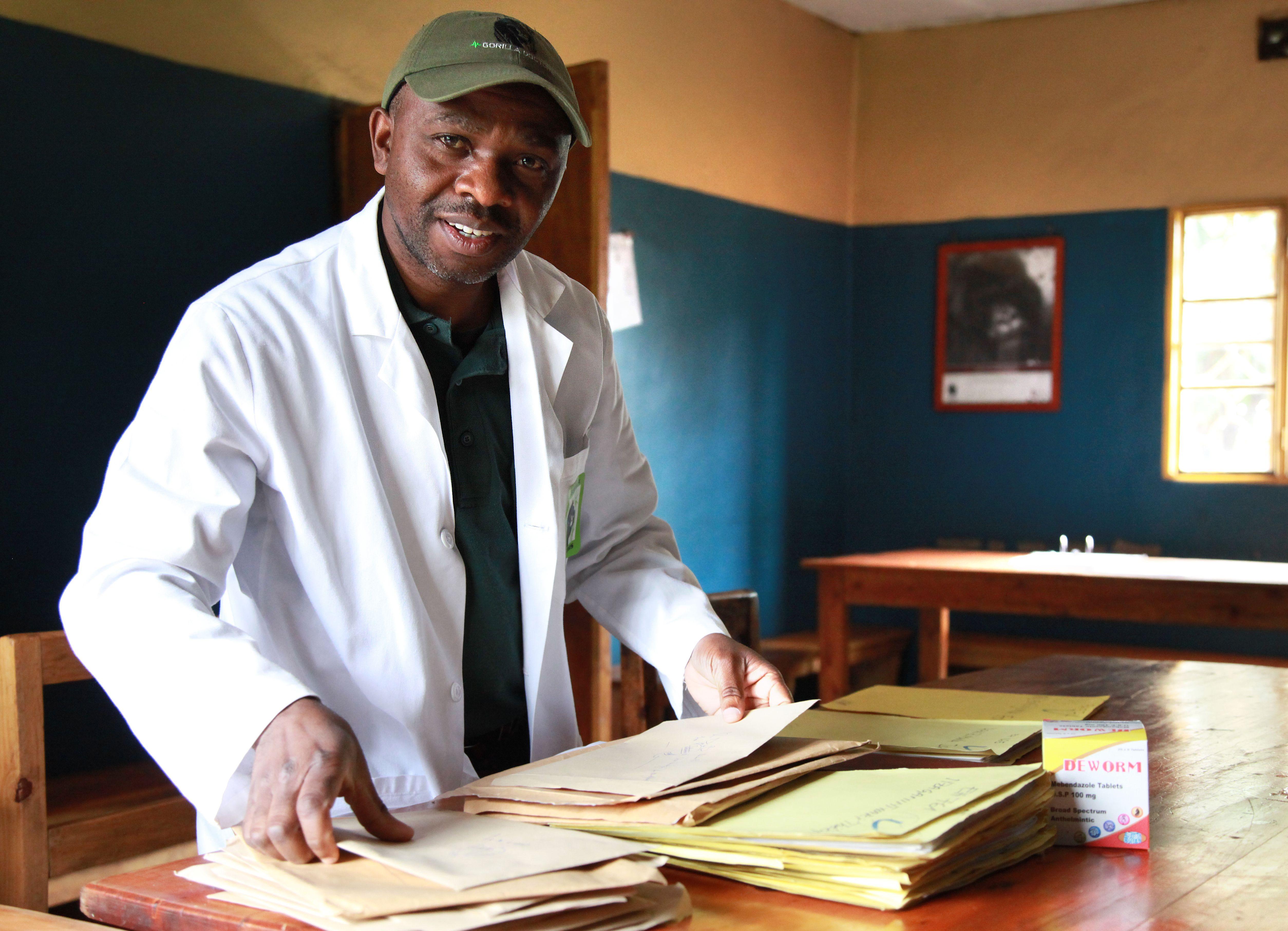 Jean Paul Lukusa, Employee Health Program manager