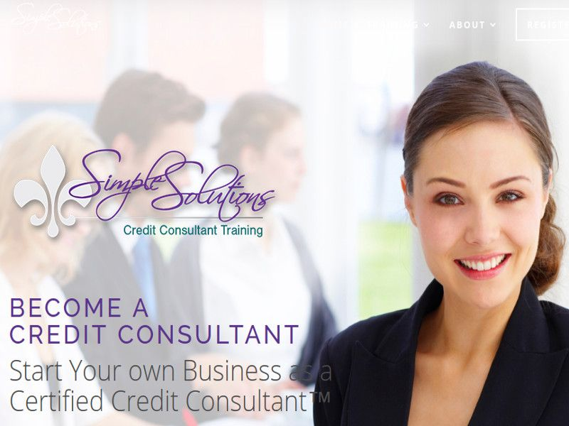 Start your own credit repair business. Simple Solutions