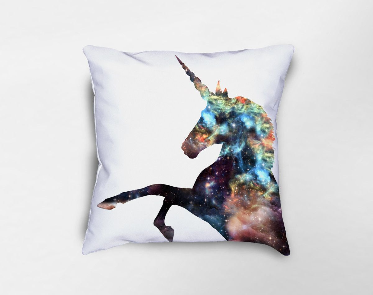 Cosmic unicorn pillow in unicorn pinterest unicorn pillow