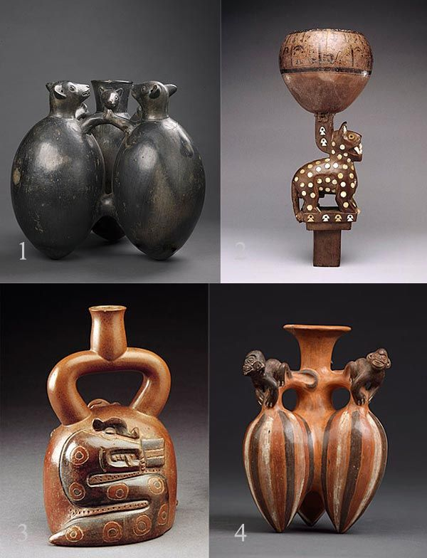 a look at the ancient peruvian ceramics of the north coast Ancient peruvian ceramics of the north coast march 11, 1997 the first pottery pieces found in peru were made somewhere between 1500 and 1000 bp the pieces were found in the central andean region where a religious cult lived.