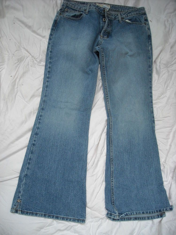 f35001bf751 Women s Maurices 13  14 Reg Low Rise Flare Button Fly Bootcut Jeans   Maurices  BootCut