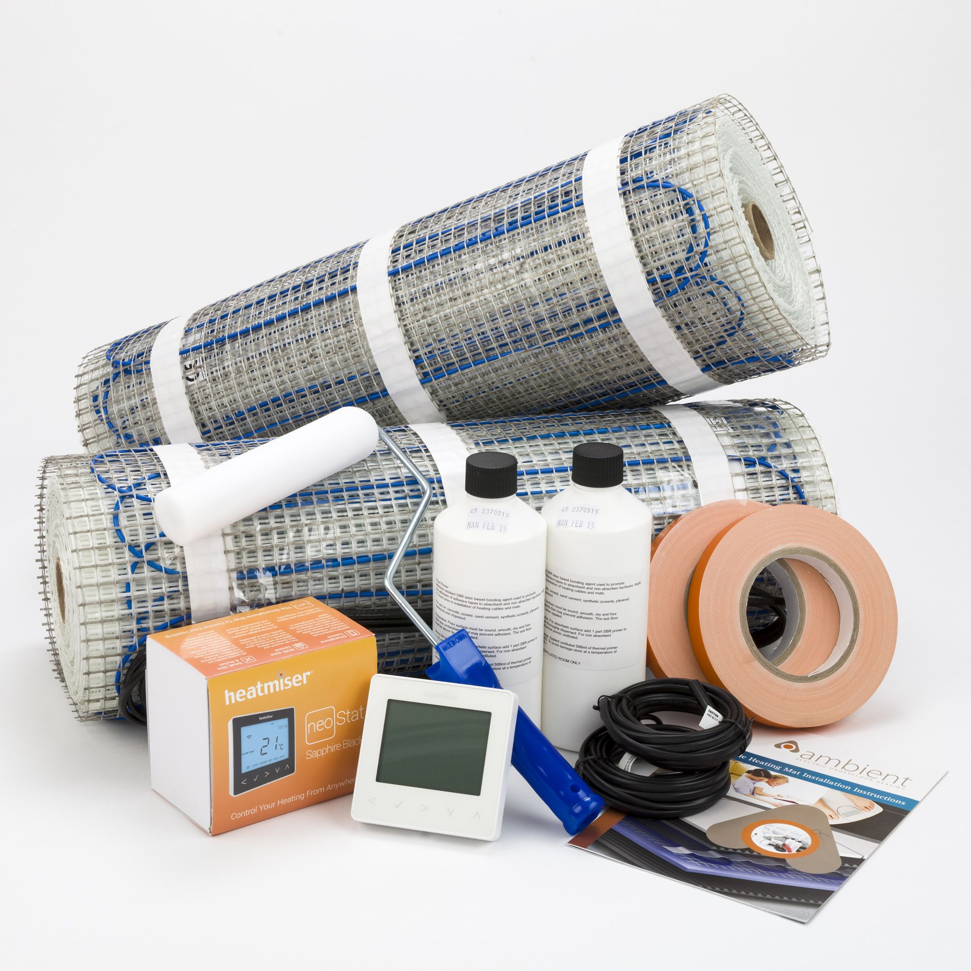 200w Sticky Mat Range Large Floor Heating Systems Electric Underfloor Heating Heating Systems