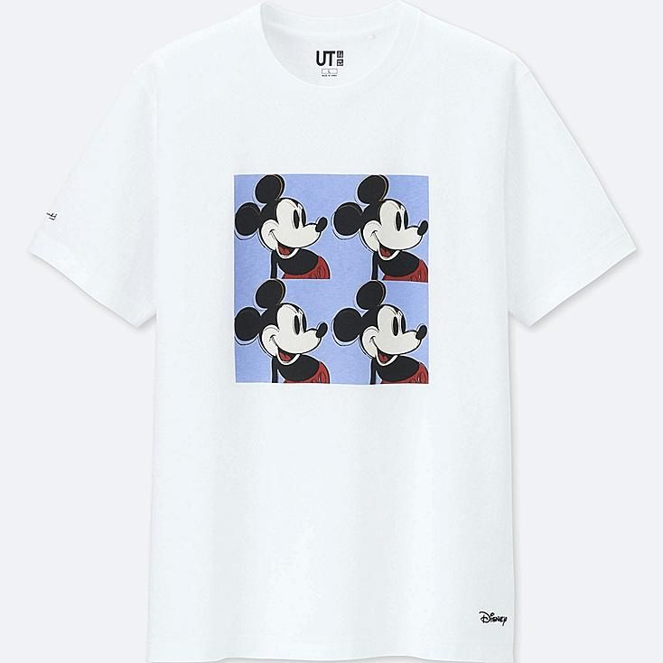 762caf9b Mickey mouse art by andy warhol ut (short-sleeve graphic t-shirt) in ...