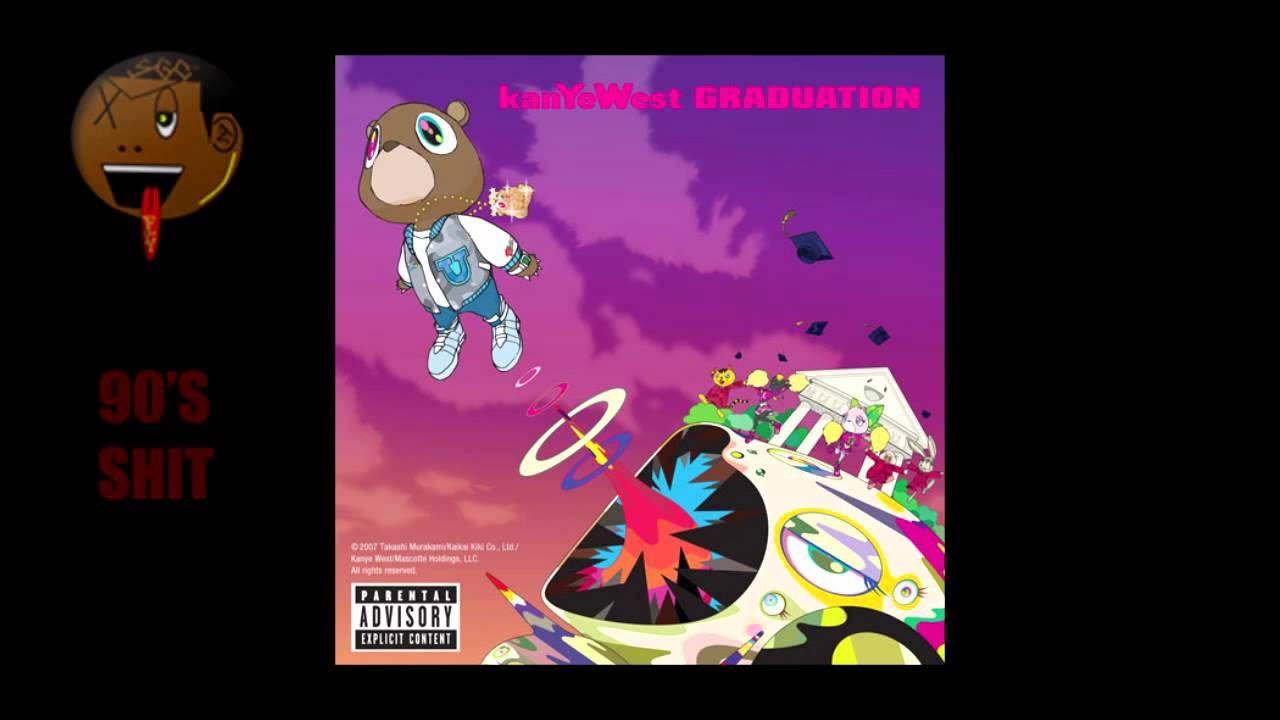 Kanye West Graduation Full Album Music Album Cover Kanye West Album Cover Rap Album Covers