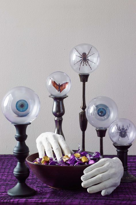 40 Spooky Halloween Decorations for the Best Holiday Ever - how to make homemade halloween decorations