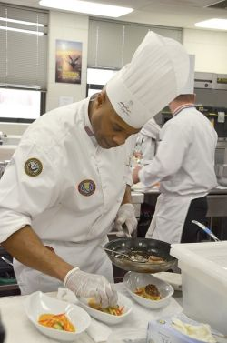 Saluting An Armed Forces Top Chef Culinary Competition Forges