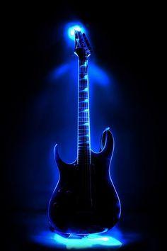 Rap Blue Guitar Cool Guitar Music Guitar Music Wallpaper
