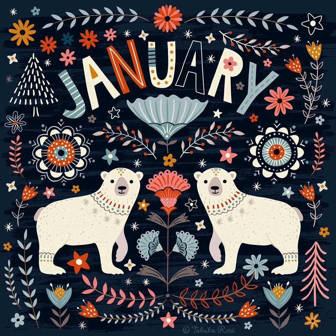 Weihnachtsbeleuchtung Tiere.January Days Months Illustration Art Winter
