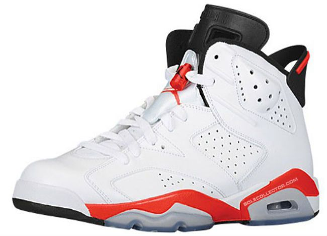air jordan 6 retro white\/infrared-black