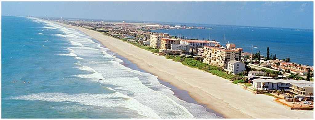 Barrier Island Of Indian Harbour Beach