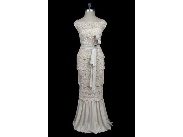 Vestido de novia de 1970 por Valentino de encaje.   Vestidos de ...