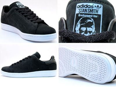 adidas: limited edition stan smith in matte black | tomorrow