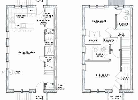 Row House Plans Google Search In 2020 House Floor Plans Floor Plans Row House Design