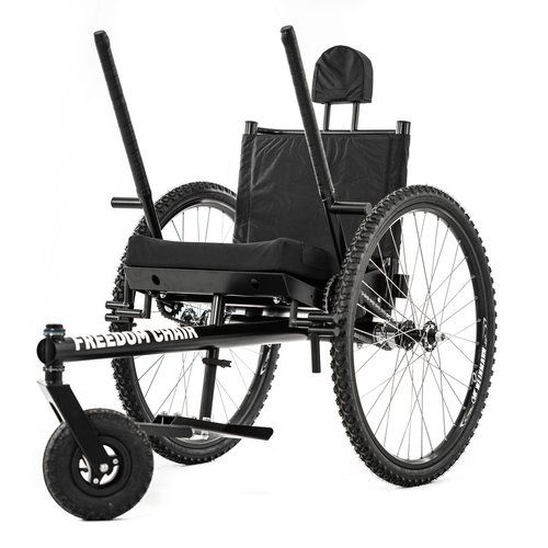 All Terrain Wheelchair Designed At Mit Wheelchair For Camping