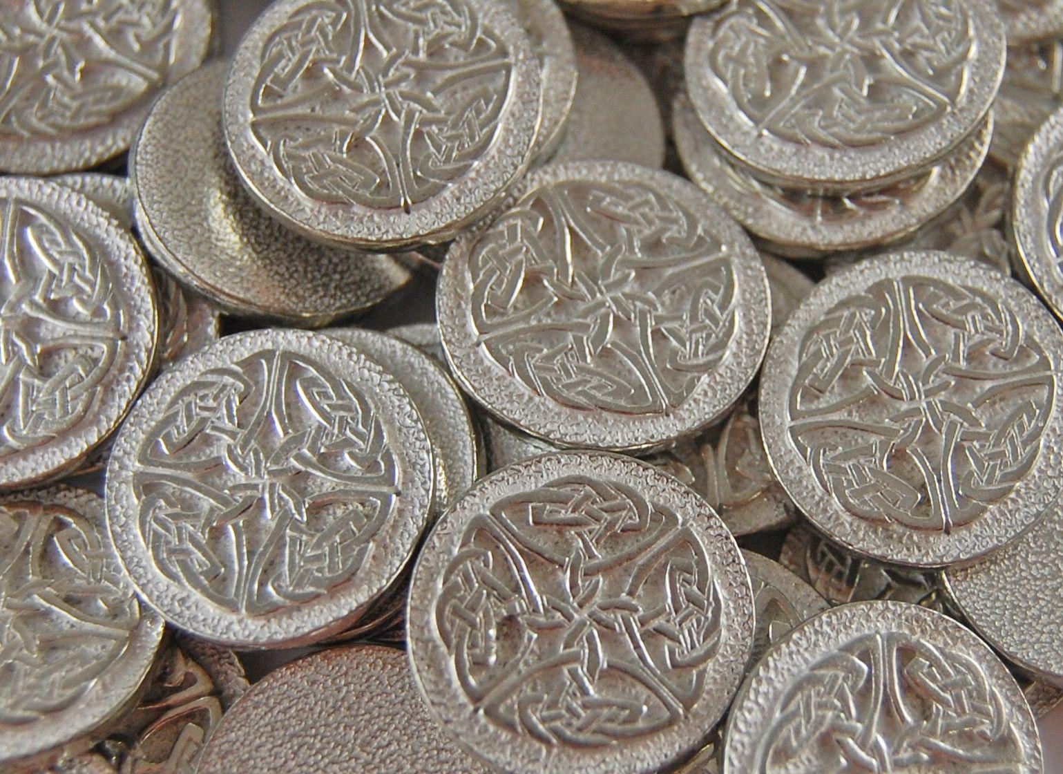 St patricks day gift for her celtic knot art green celtic star